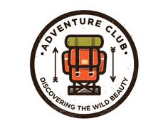 Adventure Club #back #up #logo #pack #lock