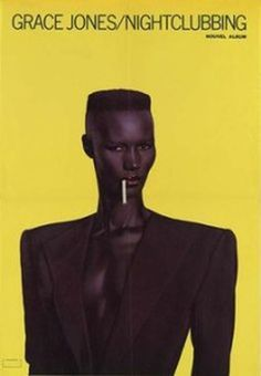 Hida Viloria | Grace Jones Nightclubbing Album Cover