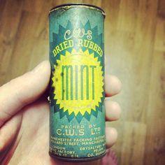 Instagram #packaging #vintage #mint