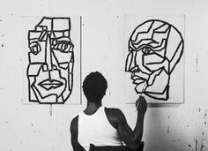Arnold R. Butler   PICDIT #painting #artist #face #art