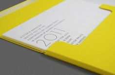 HarperCollins Invite 2011 | Work | One Darnley Road - Design + Digital #invitations #letterpress #typography