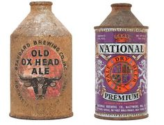 Beer on Cool Hunting #beer #label #crest #weathered #vintage