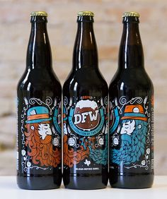 DFW: Collaboration Beer - All The Pretty Colors (Nathan Walker) @atpcdesign