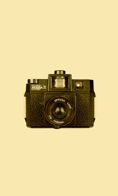Holga Camera Art Print #cool #old #camera #print #design #retro #land #unique #photography #vintage #art #studio #society6 #antique #new
