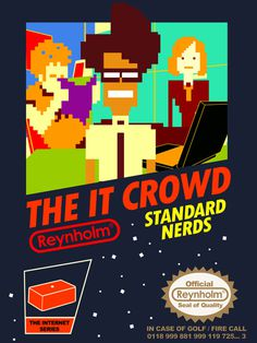 nintendo NES IT CROWD #pixel