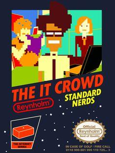 nintendo NES IT CROWD