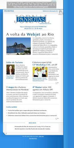 jornalPanrotas #panrotas #newsletter