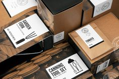 The Good Store on Behance #packaging #retail