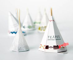 Teapee Amerindian Herbal Teas Packaging