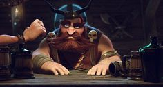 ArtStation - One More Beer!, Pedro Conti #beer #more #one #3d #viking