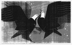 MOMENTUS #constitution #illustration #usa #momentus #eagles