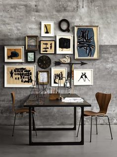 Pictures on the wall #interior #wall #pictures