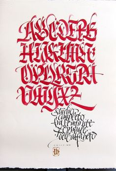 All sizes | Infinite formule | Flickr - Photo Sharing! #calligraphy #barcellona #luca #brush #typography