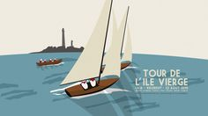 illustration, sailing