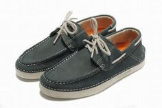 timberland mens classic 2 eye boat shoe grey #shoes