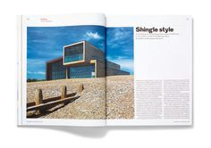 RIBA Journal & PIP supplement Matt Willey #spread #print #layout #magazine