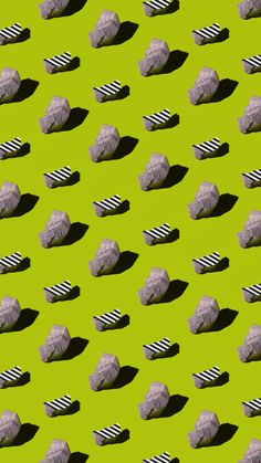 Mass Production by molistudio  #pattern #print #poster #repetition #color #flat