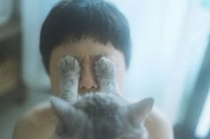 Li Hui #boy #cat #dream