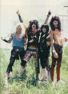 In honor of one of my favorite bands...Today is Mötley Crüe\'s birthday (1981) January 17th