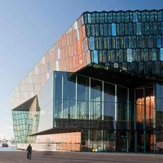 Dezeen » Blog Archive » Harpa Concert and Conference Centre Reykjavík by Henning Larsen Architects #centre #larsen #architects #harpa #glass #and #henning #reykjavk #conference #concert