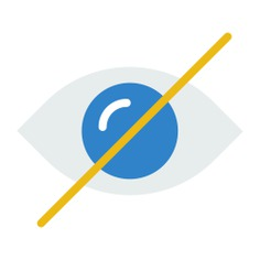 See more icon inspiration related to eye, blind, hide, optical, ophthalmology, interface, body part, multimedia option and multimedia on Flaticon.