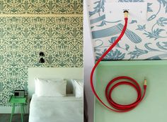 Miss Moss : Wythe Hotel #wall #paper