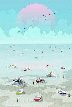 Between two waters by Noel DelMar