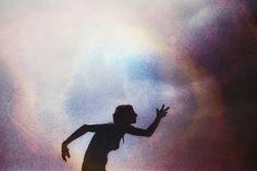 by alison scarpulla #colorful #silhouette #texture