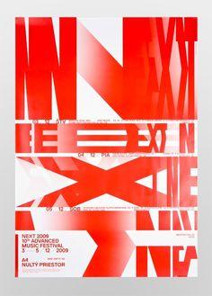 Next poster #design #typo #poster