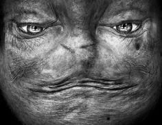 Alienation - Upside-Down Portraits by Anelia Loubser