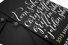 Beautiful Hand-Lettering by Plurabelle Calligraphy | Abduzeedo | Graphic Design Inspiration and Photoshop Tutorials