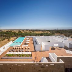 jose carlos cruz arquitecto ecork hotel evora portugal designboom #resort
