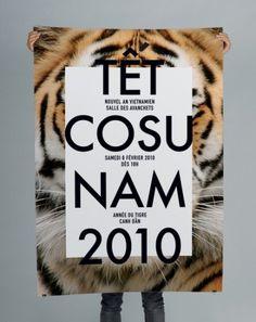 B&U #tiger #poster