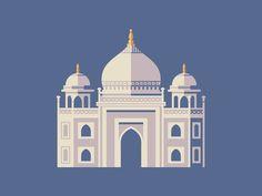 Taj Mahal #building