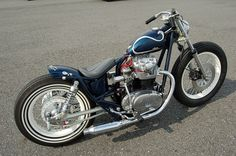 xs650SPL_whiterims_04 #bratstyle #motorcycle