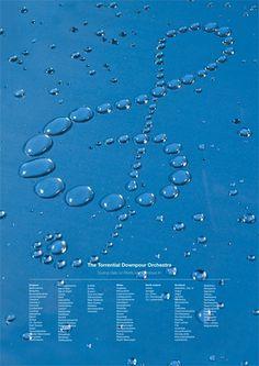 UK Rain poster - Dan Ridgway #music #information #rain #poster