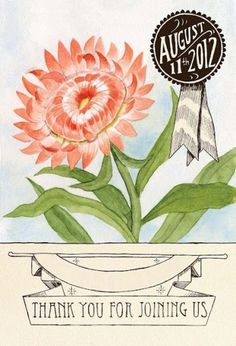 Melinda Josie: June 5th 2012 #flower #banner #painting #seed