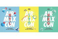 Nike | AIR MAX CON #NIKE #LAYOUT #AIRMAX #NYC #TYO #HKG