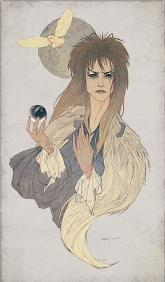 Bowie - Illustration - Samantha Hogg