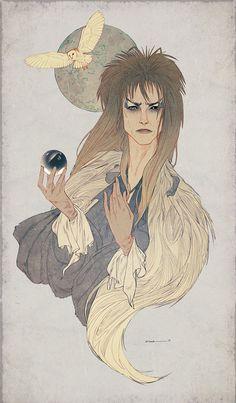 Bowie - Illustration - Samantha Hogg