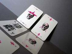 Barebones Playing Cards - TheDieline.com - Package Design Blog #barebones #cards #playing