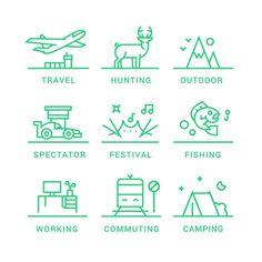 icon set for Sitpack by Leon Sloth. #iconset #icon #icondesign #illustration #Danishdesign #graphicdesign #leonsloth #design #logo