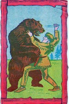All sizes | Trading card Davy Crockett | Flickr - Photo Sharing!