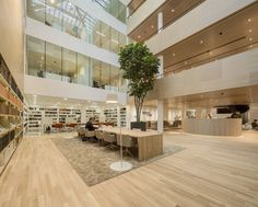 Sophisticated Law Firm Design by Hofman Dujardin: The BarentsKrans Project #law #firm #architecture