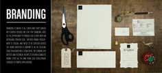 SPACE | CAMP - SERVICES #white #modern #black #clean #collateral #letterhead