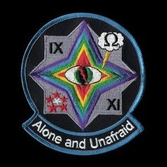 ALONE AND UNAFRAID #psyops #military #patch #alone #drone