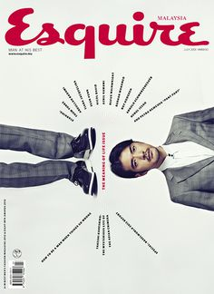 Esquire: Art direction, design, etc. - Rebecca Chew #layout