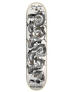 Image of 5boro Dulout Join Or Die Pro Deck 7.8 #skateboard #5boro #snake