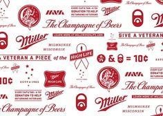 Miller High Life Veterans #beer #branding #logo