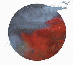 FUTURO #circle #red #galaxy #blue #planet